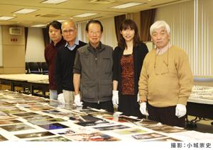 左から 勝又ひろし(『アサヒカメラ』編集長) 、熊切圭介、田沼武能(審査員長)、米美知子、大山謙一郎 審査員(敬称略)
