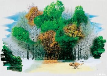 「夢の記憶(A)」久野 利夫