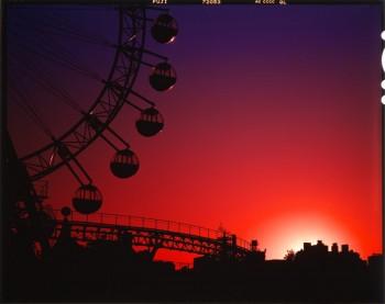 4×5判ポジフィルム 写真提供:足立 寛