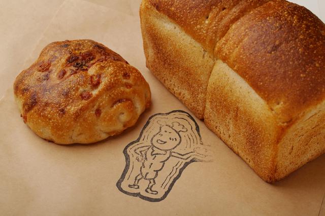 天豆食パンとチーズ&キャラウェイ