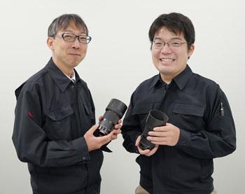 シグマ桑山氏と仲本氏